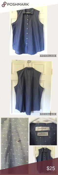 Never worn Van Heusen button down shirt Cute button down shirt from Van Heusen never worn size XXL Van Heusen Tops Button Down Shirts