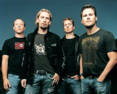 NIckelback is my favorite band!!!