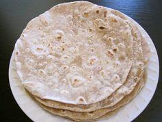 cooked flour tortillas
