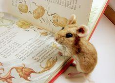 Needle Felted Art by Robin Joy Andreae:   Sweet William