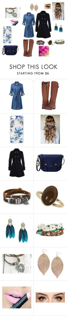 """""""Boho fun"""" by mirandaanneyoung ❤ liked on Polyvore featuring Naturalizer, Sonix, LOVMELY, Miss Selfridge, Lauren Ralph Lauren, BillyTheTree, Dorothy Perkins, Aéropostale, Humble Chic and Fiebiger"""