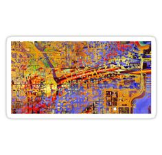 chicago von donphil  http://www.redbubble.com/de/people/donphil/works/20874434-chicago?asc=u&p=sticker&rel=carousel  #sticker #donphil #colorful #nice #cool #art #artwork #digitalart #modern #gift #new #xmas