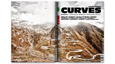 Curves Magazine: Each issue is a five-day journey taken by two friends around and over mountain peaks and passes.