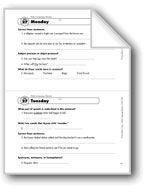 Daily Language Review, Gr. 5: Week 27. Download it at Examville.com - The Education Marketplace. #scholastic #kidsbooks @Karen Echols #teachers #teaching #elementaryschools #teachercreated #ebooks #books #education #classrooms #commoncore #examville