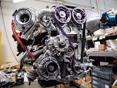 he 2JZ engine is a smooth straight six turbo beast
