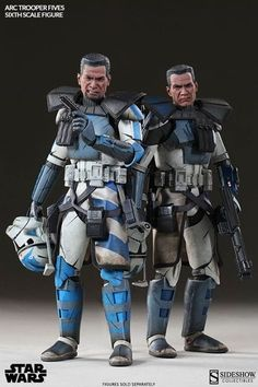 ARC Troopers Echo and Fives