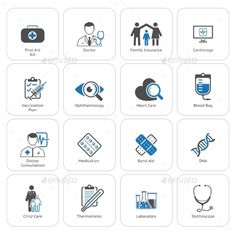 Medical And Health Care Flat Icons Set #design Download: http://graphicriver.net/item/medical-and-health-care-icons-set-flat-design/14196615?ref=ksioks