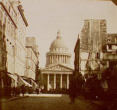 Panthéon., Siege of Paris, Special Collections, Northwestern University Library