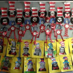 Dr. Suess crafts -First grade