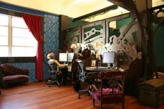 crazy Steampunk main office designs Check more at http://furnituremodel.info/55612/crazy-steampunk-main-office-designs/