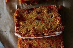 Carrot Zucchini Bread with Lemon Glaze Recipe on Food52 recipe on Food52