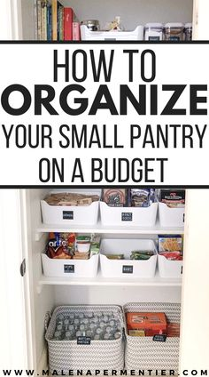 Organizing small spaces can be so challenging!! So happy I came across this post showing me the best ways to organize a small pantry. These tips are seriously so helpful and super affordable to recreate in your own kitchen. Must read. #smallpantryorganization #organizationhacks #smallpantry Small Pantry Organization, Home Organization Hacks, Organizing Your Home, Kitchen Pantry, Kitchen Items, Farm House, Cool Kitchens, Saving Money, Small Spaces