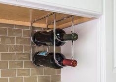 Wine Bottle Holder- Wine Bottle Holder in Chrome Retail Packaged. (Item # WBH-PC-R)