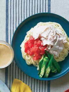 【ELLE a table】豆腐ごまだれ冷しゃぶ麺レシピ|エル・オンライン