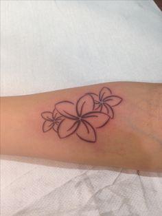 Plumeria tattoo                                                                                                                                                                                 More