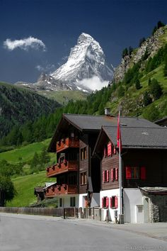 Matterhorn, Zermatt, Switzerland by luisa Zermatt, Beautiful Places To Visit, Cool Places To Visit, Places To Go, Places Around The World, Travel Around The World, Around The Worlds, Vacation Places, Places To Travel