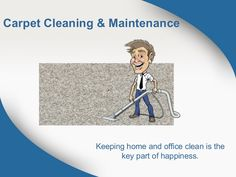 Here, in this presentation you will get some important tips on carpet cleaning and maintenance and what things to be kept in mind before hire a carpet cleaning company to do the job. Important tips on Carpet Cleaning & Maintenance