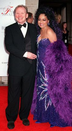 Bob Mackie & Diana Ross