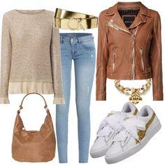 Gold Puma Outfit Outfit für Damen zum Nachshoppen auf Stylaholic