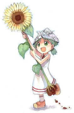 Yotsuba from Yotsuba&!  She's so adorable! Her innocence and naivete are a bit overwhelming at times.