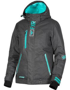 Shell – durable polyester shell with HydrX laminate Lining – nylon taffeta lining FXR Dry Vent system - snowproof and moisture resistant chest vent Insulation - FXR Thermal Flex insulation YKK front zipper Snowmobile Clothing, Womens Snowmobile Jackets, Bicycle Brands, Mountain Bike Shoes, Cool Bike Accessories, Winter Gear, Cool Bicycles, Black Linen, Looking For Women