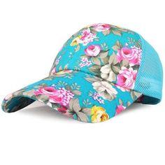 18e37d8547a Adjustable Floral Print Baseball Cap