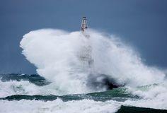 Lighthouse vs Storm by Senna Ayd on 500px