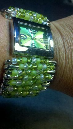 Safety pin watch