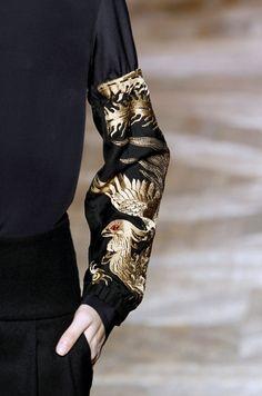 By Belgian fashion designer Dries Van Noten; RTW fall 2012