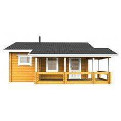 Saunamökki Löylykeidas - Mallinnuskuva edestäpäin Shed, Outdoor Structures, Outdoor Decor, Home Decor, Decoration Home, Room Decor, Home Interior Design, Barns, Sheds