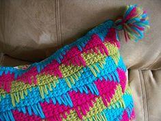 Simply HomeMade: crochet _ Spike Stitch