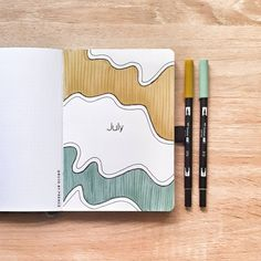 Bullet Journal Addict - 20 Beautiful Monthly Cover Pages