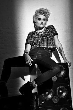 Sky Ferreira Face Of Redken - Hair Styling Muse (Vogue.com UK)