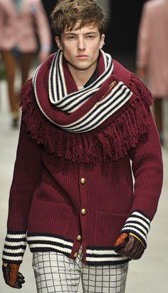 Andrea Pompillo FW13/14 - Milan Men's Fashion Week