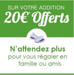 Coupon 10/20 euros !