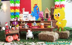 Galinha Pintadinha 1 - Muita Festa Decorações