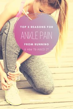 Whether you're a novice runner or a pro, ankle injuries are common when running. Here is our list of the 5 most common reasons for ankle pain from running, and how to treat it. Jogging For Beginners, Running For Beginners, Running Tips, Ankle Injuries, Running Injuries, Ligament Tear, Ligaments And Tendons, Ankle Pain, Muscle Strain
