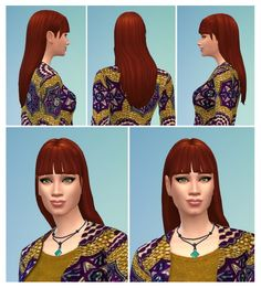 Mina Hair at Birksches Sims Blog via Sims 4 Updates Check more at http://sims4updates.net/hairstyles/mina-hair-at-birksches-sims-blog/