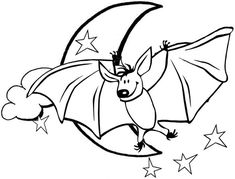 In funny realistic and cartoon of bat coloring pages, kids ages 4 and up will enjoy hours of happy entertainment while reinforcing their knowledge of Bat Coloring Pages, Minnie Mouse Coloring Pages, Coloring Pages For Kids, Christmas Tree Decorations, Scenery, Moon, Cartoon, Funny, Animals