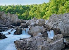 """Johnson's Shut-Ins State Park Campground: More than 70 spacious sites and cozy cabins make a home base for explorers wading and swimming in the """"shut-ins,"""" named for the water from the East Fork of the Black River running through narrow gaps between boulders. Details + more favorite Midwest campgrounds: http://www.midwestliving.com/travel/around-the-region/24-best-midwest-campgrounds/?page=9"""