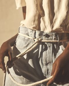 New neutrals. Our Spring/Summer '17 Levi's Made & Crafted collection launches in one week.