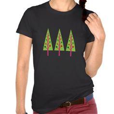 Christmas Trees Tee Shirts #Christmas #Tree #Tshirt #Tee