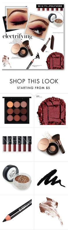 """GLITTER MAKEUP: First Beauty Set"" by alliedaddysgirl ❤ liked on Polyvore featuring beauty, Post-It, MAC Cosmetics, Urban Decay, Nude by Nature, Bobbi Brown Cosmetics, red and glitter"