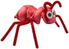 Fun Kids Crafts, Science Projects, and More   Egg Carton Ants   LooLeDo   Crafts for Kids