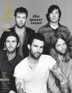 adam levine on cover of magazine - Bing Images