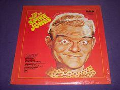 "Spike Jones - Best of Spike Jones - Rare 12"" Vinyl LP Record - RCA ANL1-1035(e)"