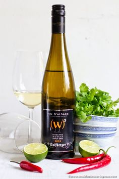 This blend of Riesling, Pinot Gris and Muscat goes with wide range of (especially Asian-inspired!) dishes  - check out my recipe pairing for this!