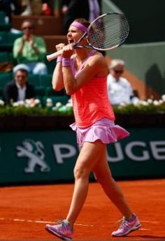 Lucie Safarova's Nike outfit at the French Open 2015