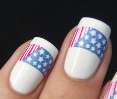 AllYouDesire: My 4th Of July Nails