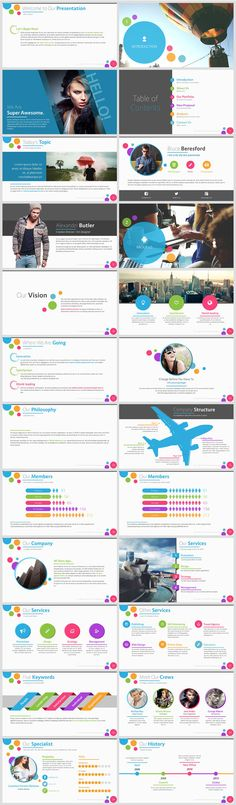 Mind Map Guide Presentation Example PowerPoint Templates - product comparison template word